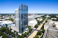 US Bank Tower Drone Aerial Photography, Digital Sky Aerial Imaging