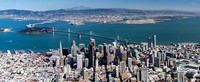 Aerial photograph of San Francisco including the new Sales Forces Tower