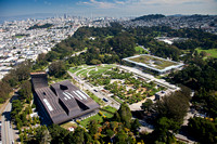 Golden Gate Park aerial photography
