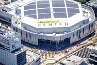Golden 1 Center aerial photography